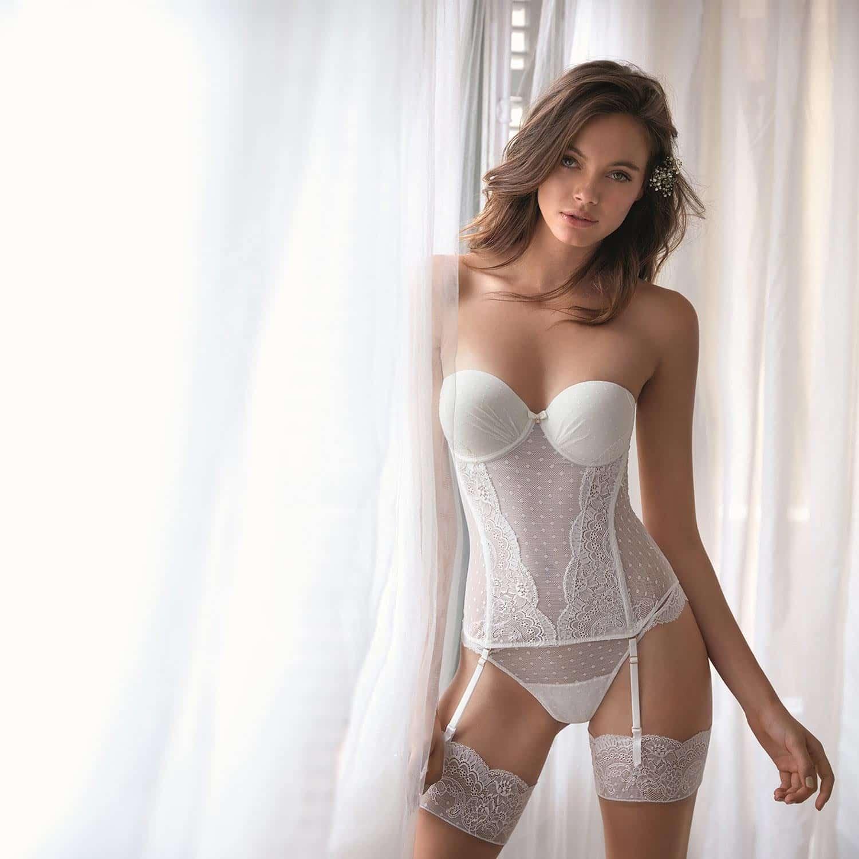 La lingerie de la mariée