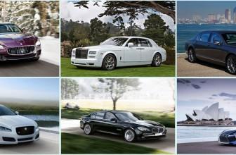 Le top 5 des marques de voitures de luxe
