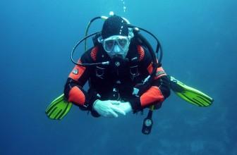 Les accessoires de plongée sous-marine